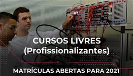 CURSOS LIVRES - FORMAÇÃO INICIAL E CONTINUADA